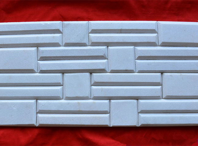 Polished White Marble Stone Wall Cladding Panel