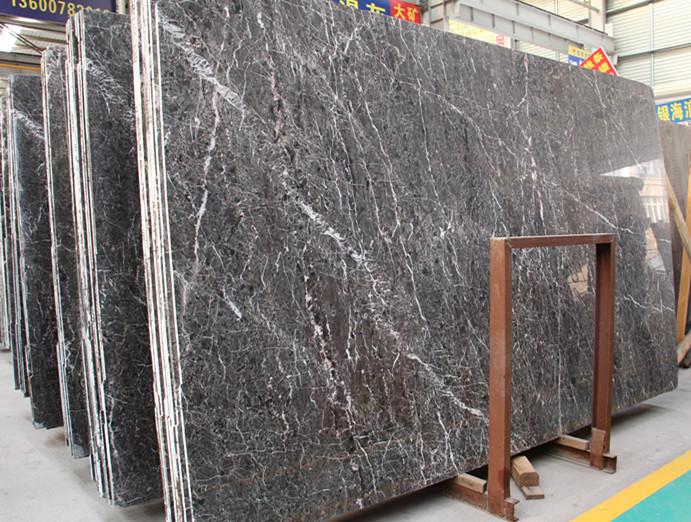 Polishing Hangzhou Ash Marble