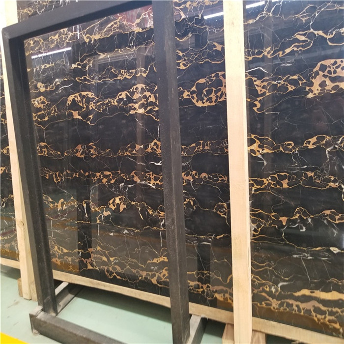Luxury Portoro Gold Marble For Hotel