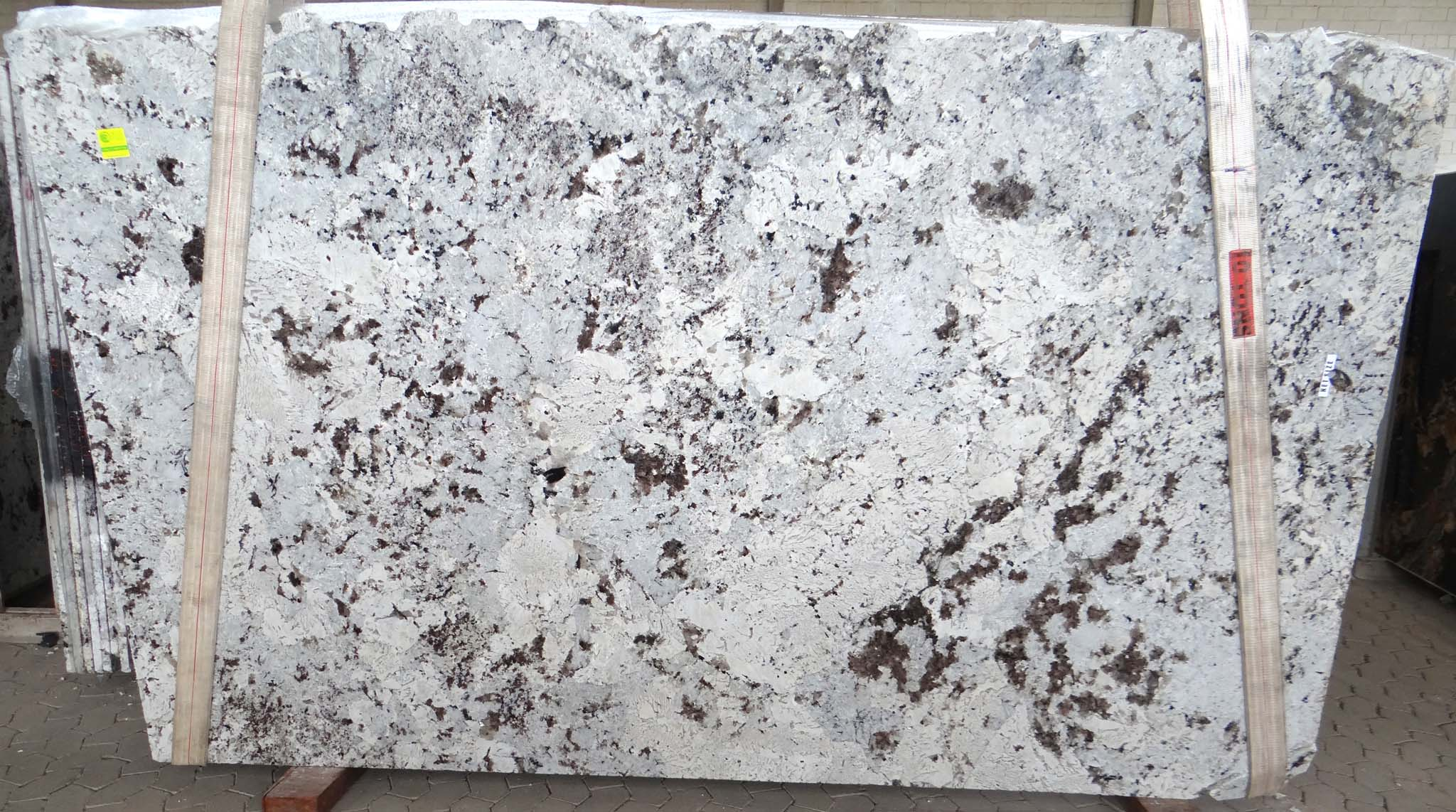 Alaska white granite polished