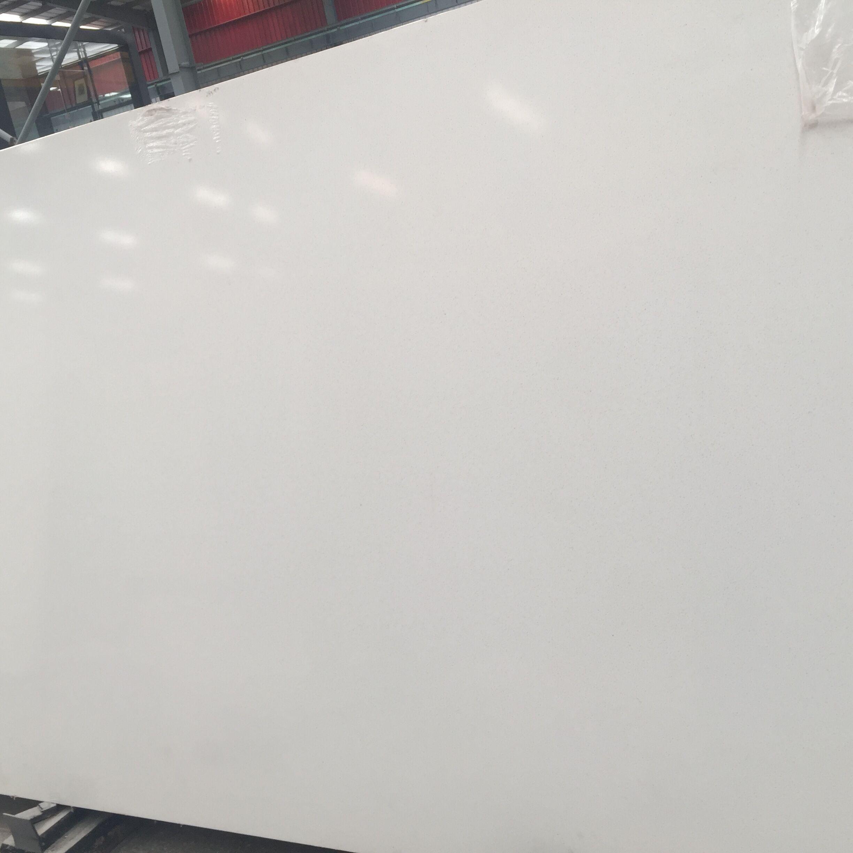 Pure White Quartz Slab