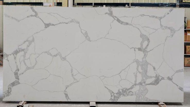 Statuario Classic quartz stone slab