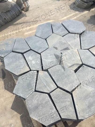 Natural Decorative slate mats flagstone