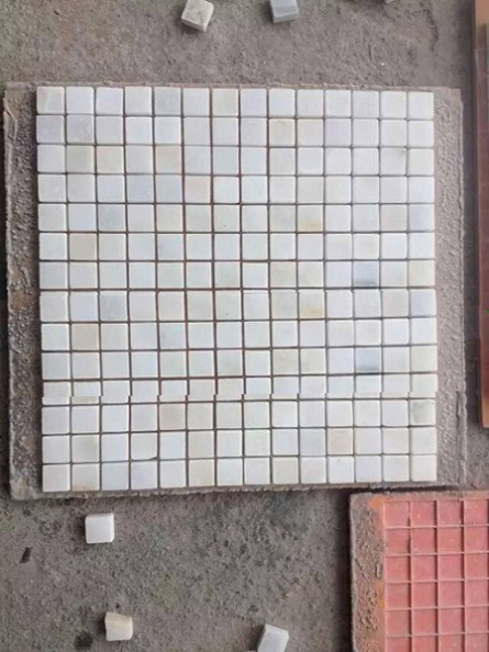 Marble mosaic tile for bathroom wall-cladding &flooring decoration