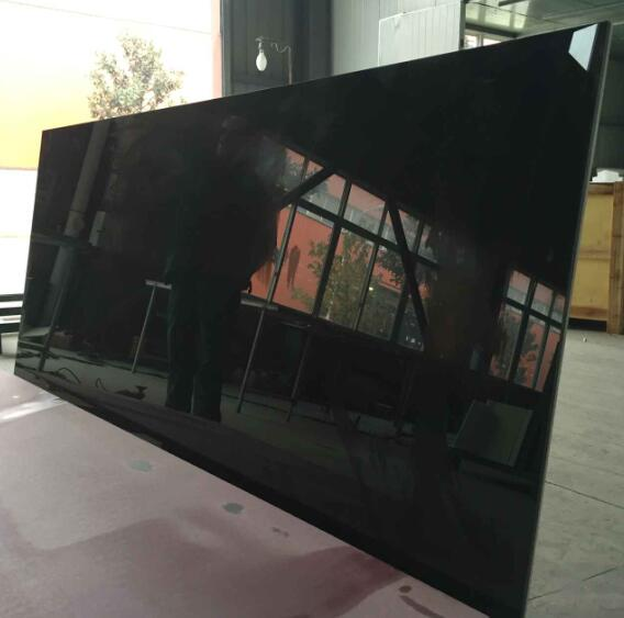 nano crystallized glass black panel non-pored best quality