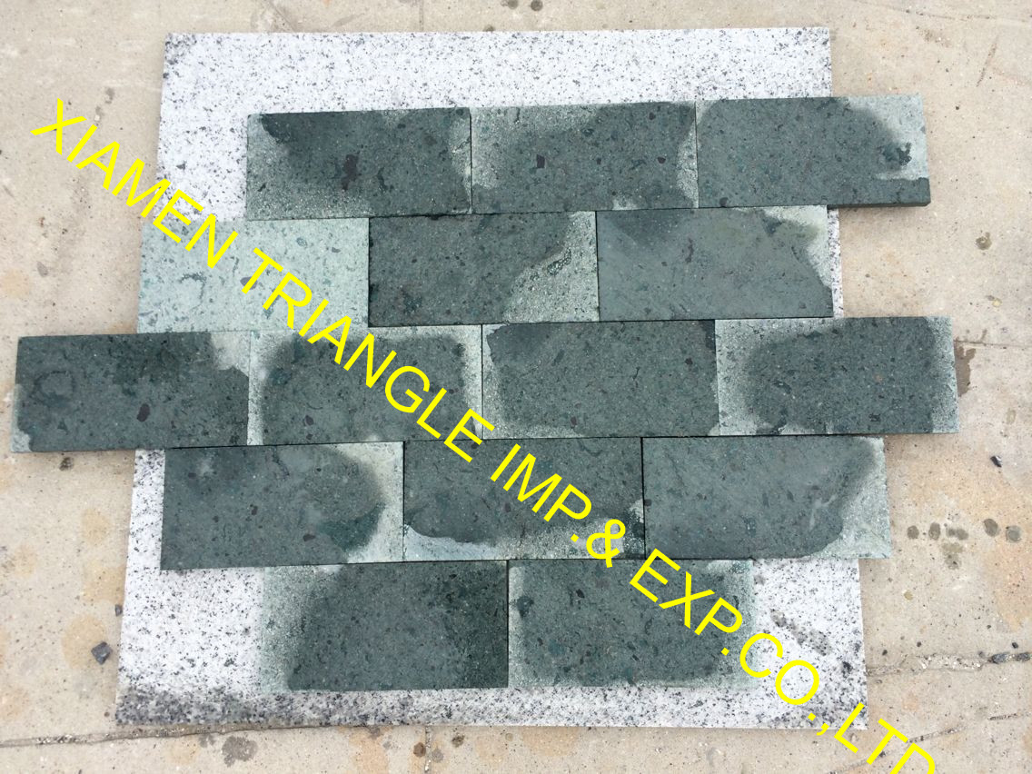 Dry with Wet 15x15cm China Sukabumi Green Stone
