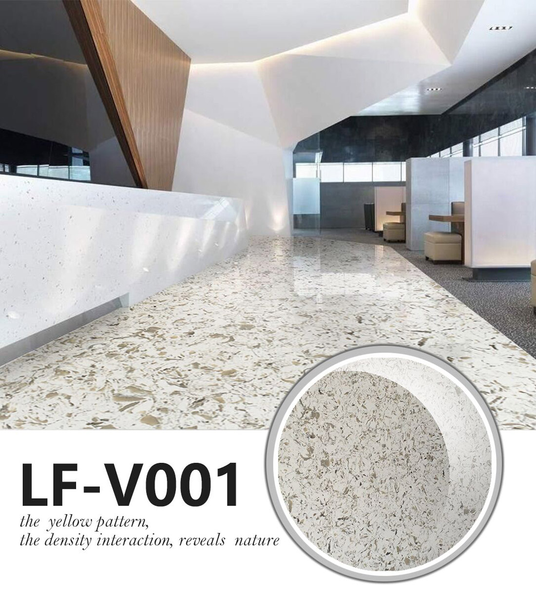 Quartz Table Tops LV-001