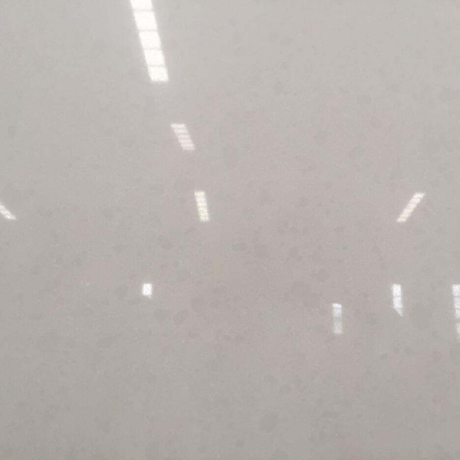 Quartz Stone Bs3201 Double White from Guangdong China Solid Surfaces Polished Slabs & Tiles Engineered Stone for Hotel