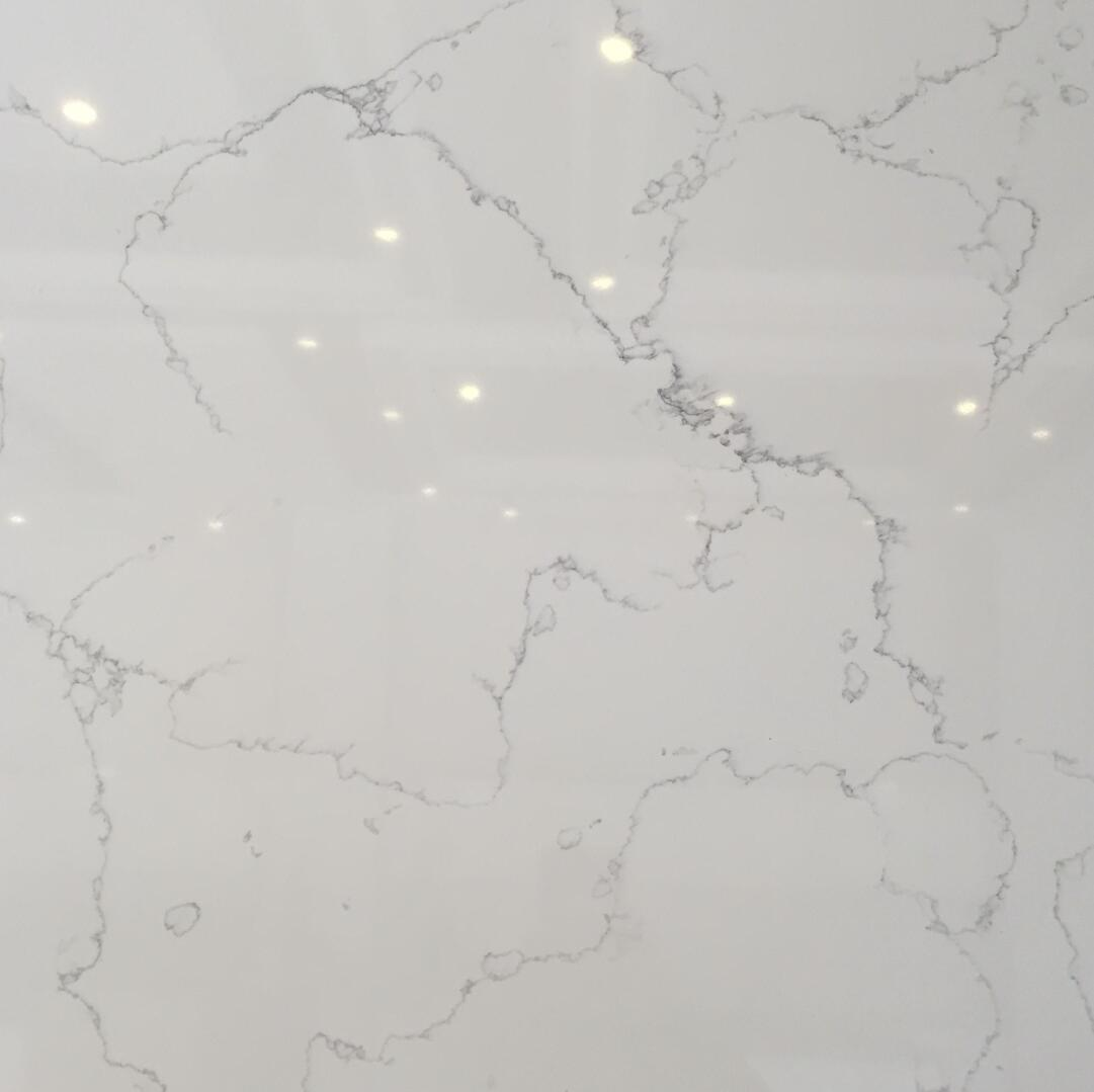 Quartz Stone Bs3421 Elizabeth from Guangdong China Solid Surfaces Polished Slabs & Tiles Engineered Stone for Hotel Kit
