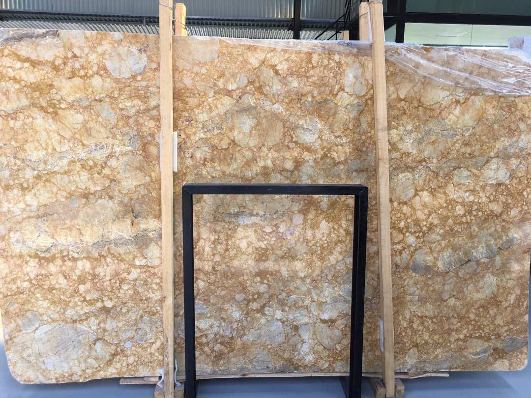 Golen marble