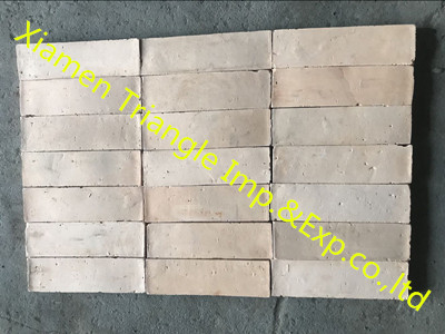 Beige Antique Handmade Terracotta Tile