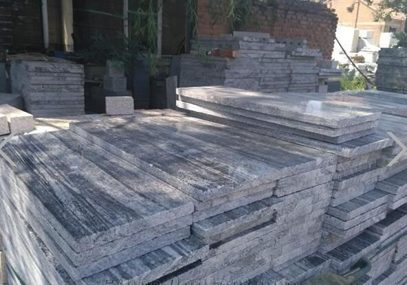 G302 wooden grey Wood Grain Granite  Granite Tiles & Slabs Wall Panel & Cladding