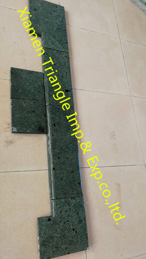 China Hijau Piedra Sukabumi Swimming Pool Coping