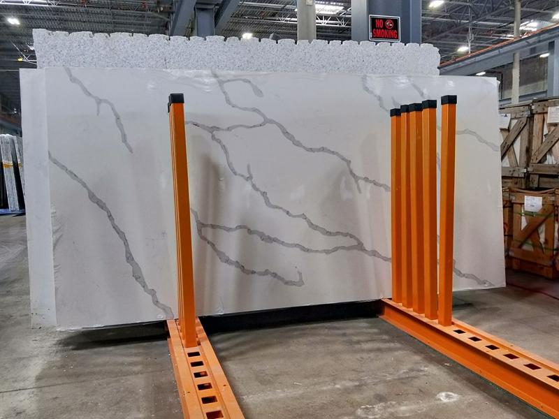 Warehouse Quartz Stone  slab rack