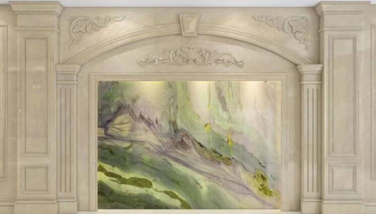 Luxury Stone Amazon Green Marble Wall Panel Slab