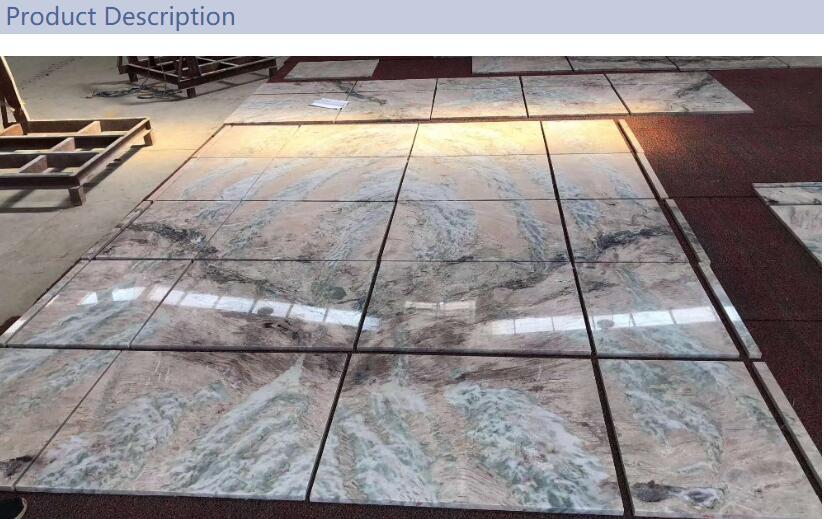 Purple Wave Polished Luxury Stone Marble Tile Slabs