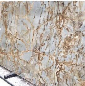 Roman Greek Blue Marble Stone Slab