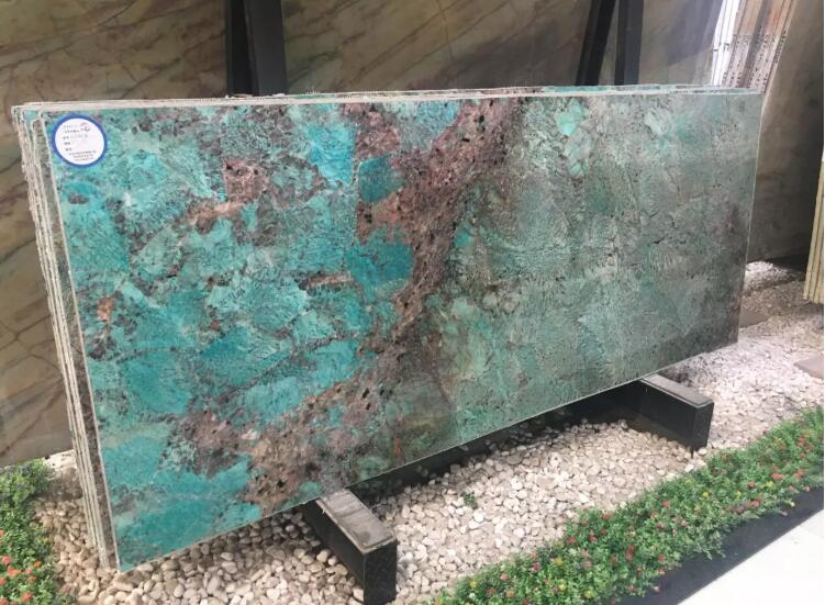 Luxury Rainforest Amazon Green Marble Slab Suitable for Background Wall  Table Top