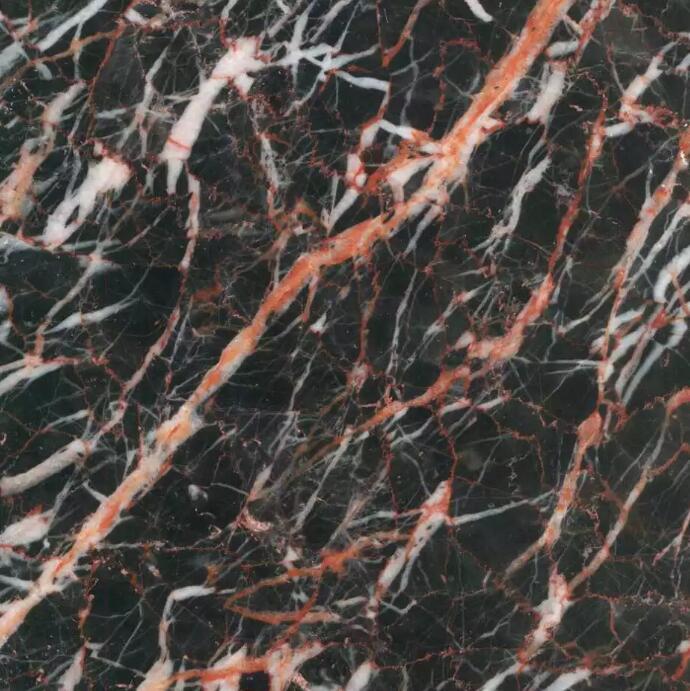 Cuckoo Red And Black Marble For Bathroom Vanity