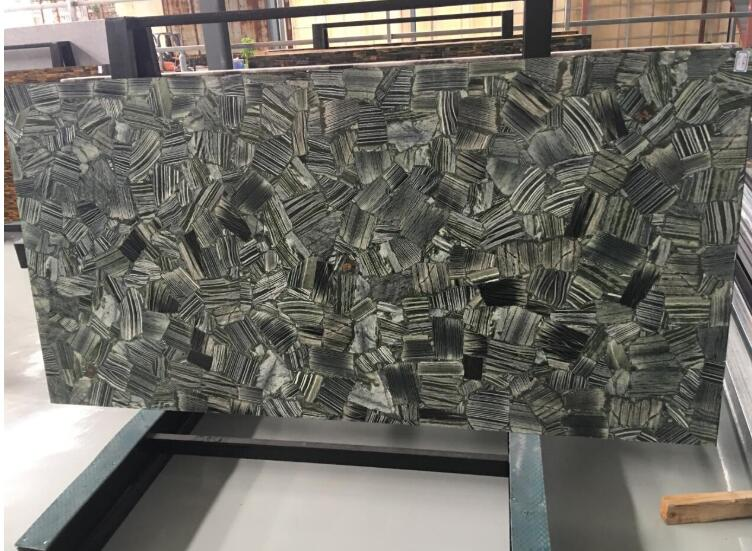 Luxury Zebra Marble Stone For Background Coffee Table