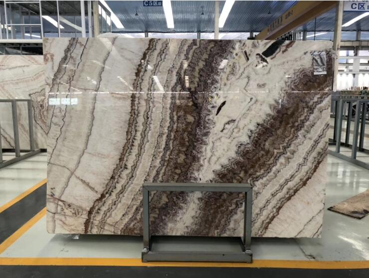 Red Dragon Jade Onyx Marble Tiles For Background Wall