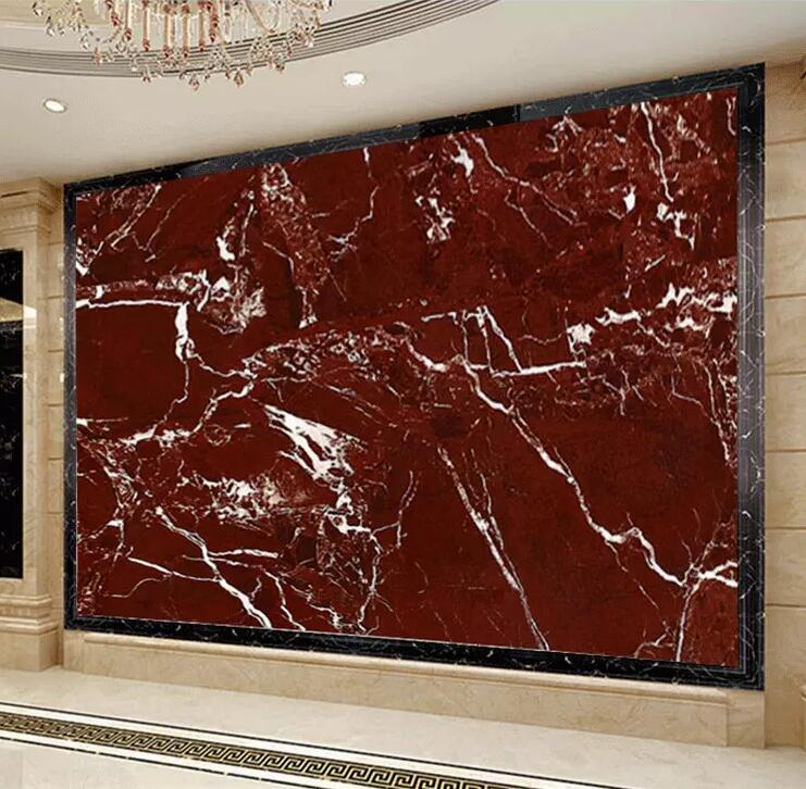 High Quality Luxury Vein Red Marble