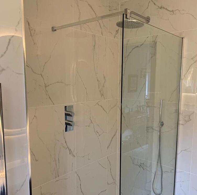 White Grey Marble For Bathroom Decoration