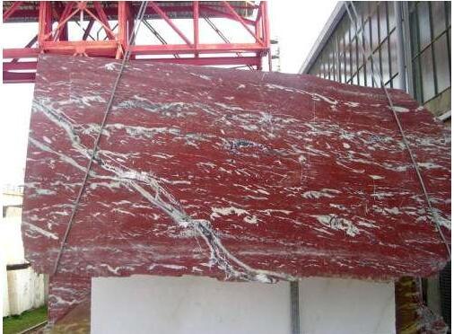 Rosso Francia Languegoc Red Marble Slab