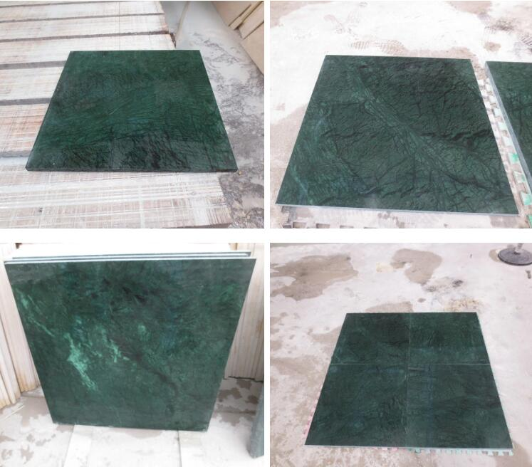 High Quality India Green Marble Tile