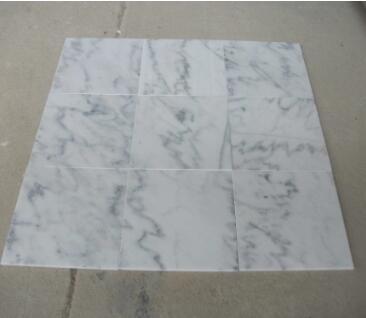 Guangxi White Marble Tile