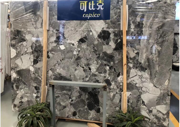 Popular Dark Grey Marble Slab