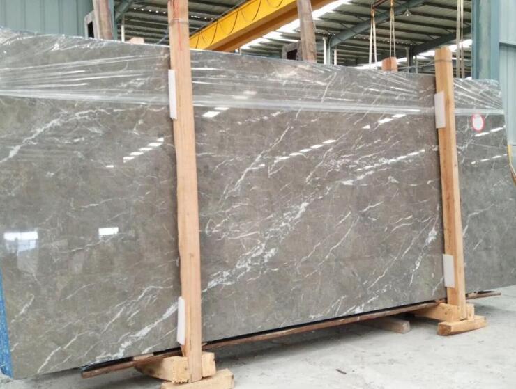 Polished Natural Cyprus Grey Marble Slab Price