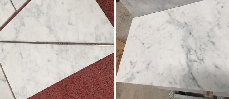 Natural Stone Polished Bianco White Carrara Marble Slab Gioia Italian White Carrara Marble Tile Verona Carrara White Mar