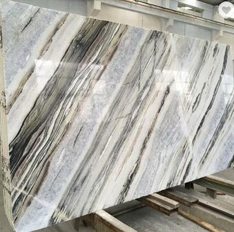 Wholesale natural calacatta white marble slabs for bookmatch