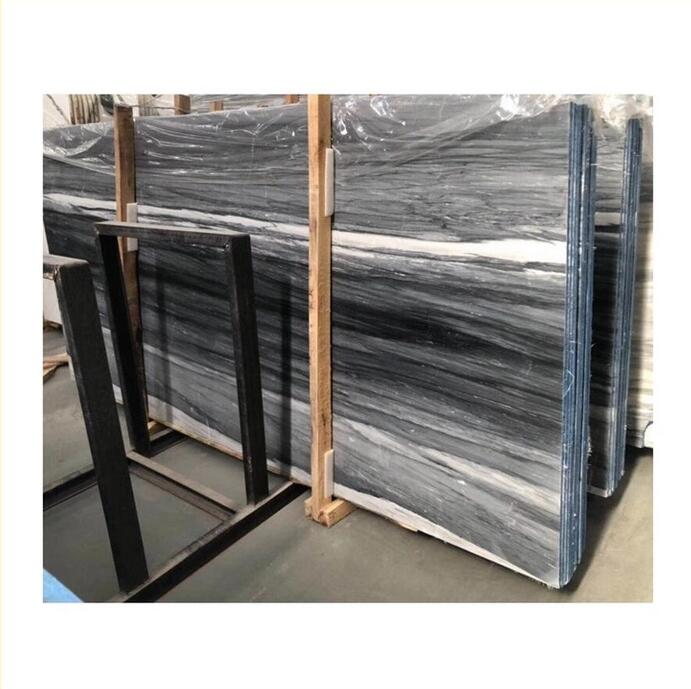 palissandro blue veins wood look Marble