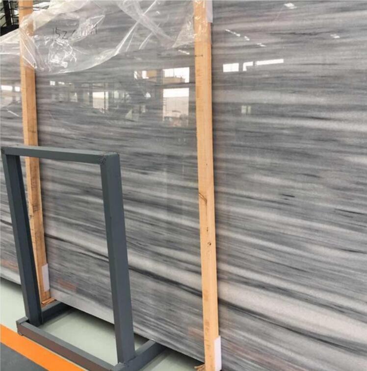 Victoria White marble slab carrara tiles with white or grey veins