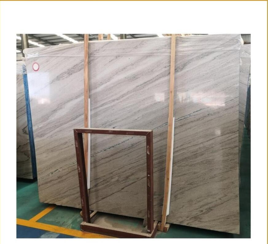 Palissandro blue sea Grey Marble with blue and brown veins