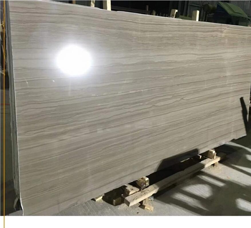 Chinese Natural Slab Stone Athens Grey Marble Athens Wood Marble