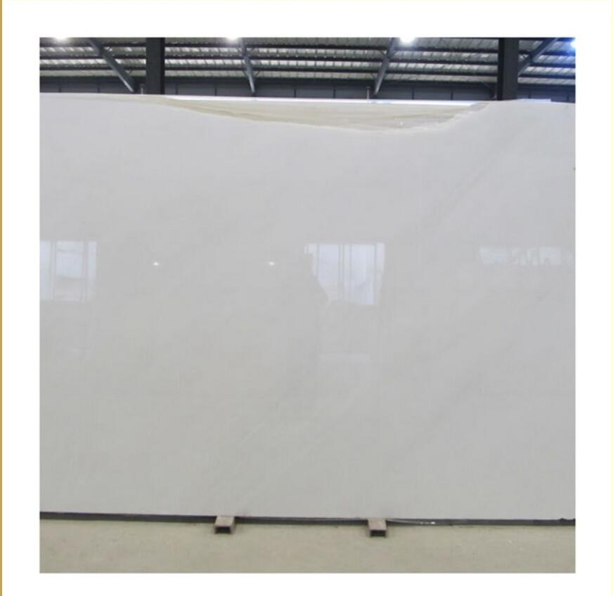 White Jade marble slab carrara tiles with white or grey veins