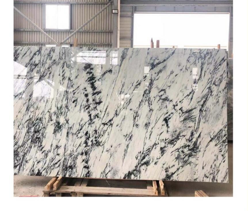Mugla White New York Carrara marble slab with white or grey veins New York White Marble New York Marble