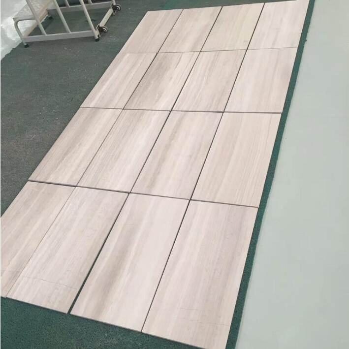 Wood Look Marble Floor Tile