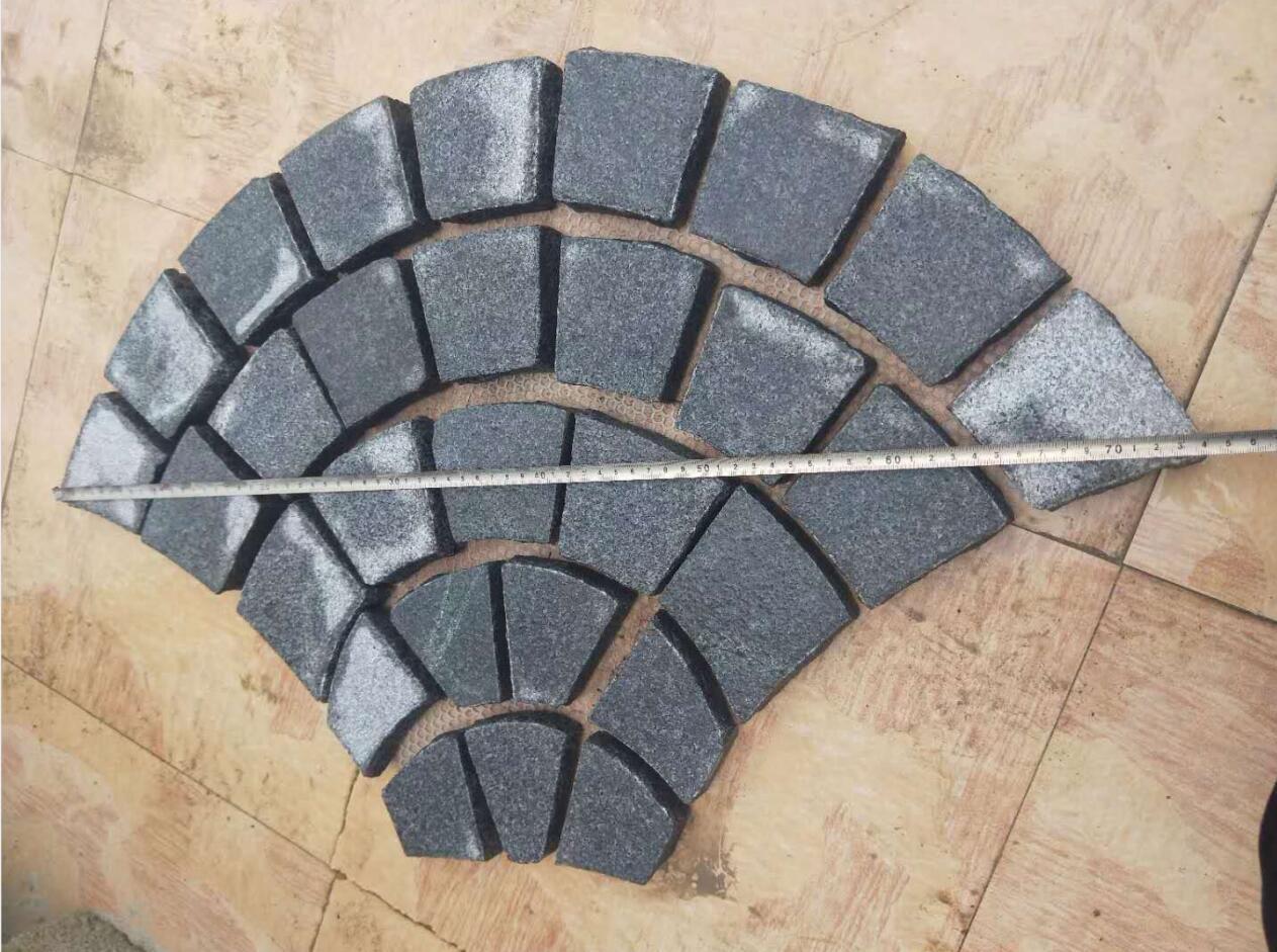 G654 Granites for paving stone