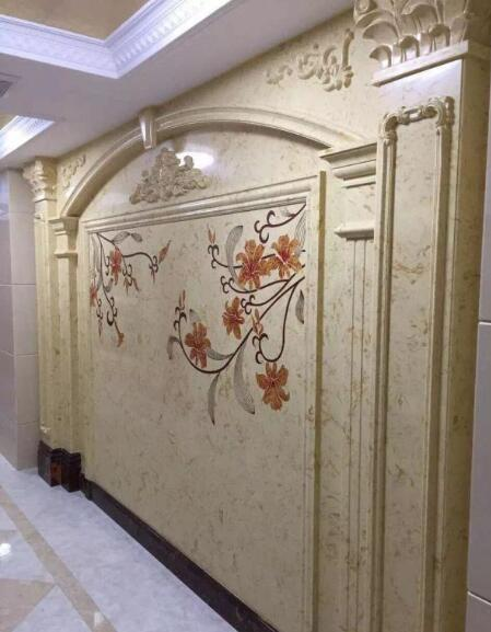 Natural stone marble background wall home decor