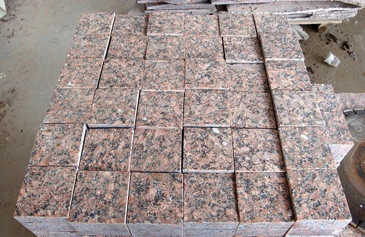 Wholesale 5x5x5 G562 Granite Cube