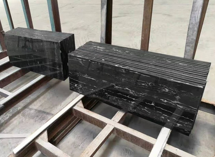 Precut Black Marble Kitchen Countertop
