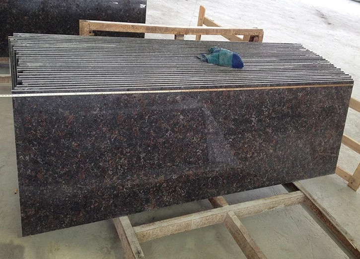 Natural Decoration Material Tan Brown Granite Stai