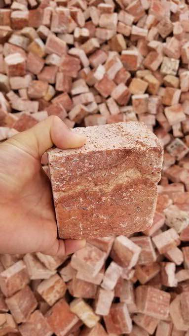 Red Cubic Stone