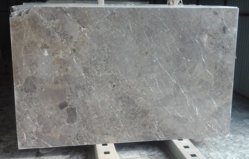 RAINY GREY MARBLE SLABS