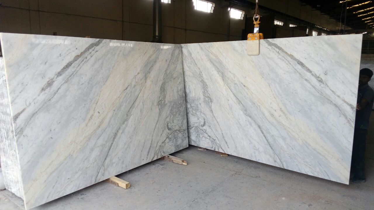 Indian White Marble