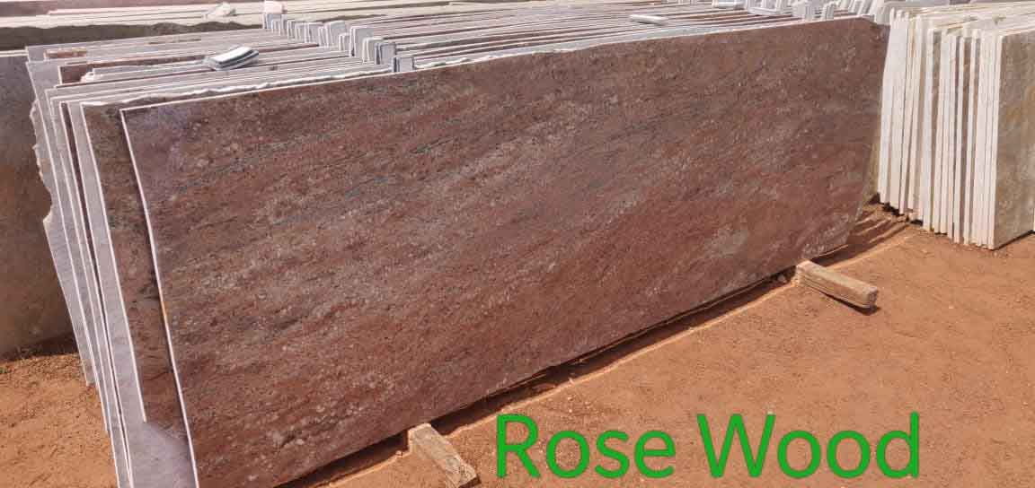 Rosewood Granite Slabs Indian Granite Slabs